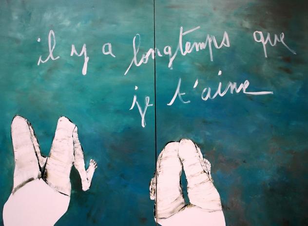 il-y-a-longtemps-huile-sur-toile-diptyque-2x80p-197x146-2012