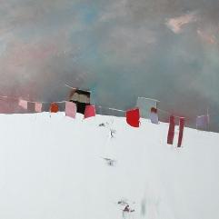 50x50cm Le temps de l'idéal (Galerie Emotion Plurielle La Baule)