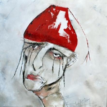 tears-huile-et-crayon-sur-toile-50x50cm-2012